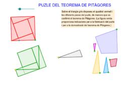 Puzle del teorema de Pitàgores de cinc peces