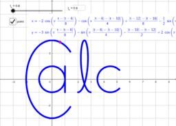 Parametric curve - CALC