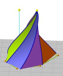 Contorsions d'una piràmide