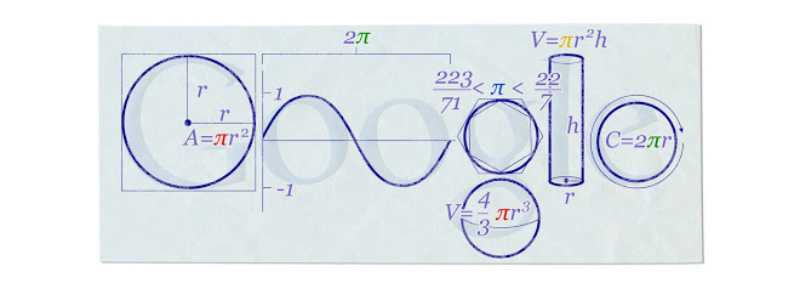 [center][i]Google Doodle - Pi Day 2010[/i][/center]
