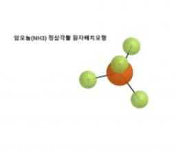 덕원고 2학년 1반 하승엽 암모늄(NH3) 원자배치모형