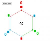 Fussball für 3 Teams