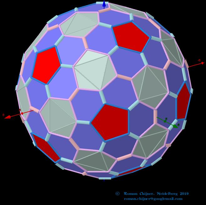 Truncated pentakis dodecahedron, V=180