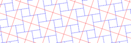 Pythagorean Theorem by Tessellation # 13 Tiling