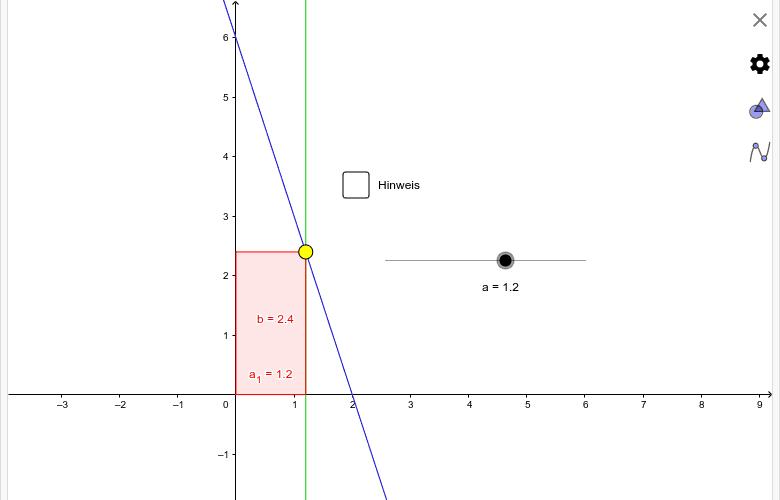 Flächeninhalt Rechteck Drücke die Eingabetaste um die Aktivität zu starten