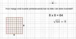 Kopi av Square numbers