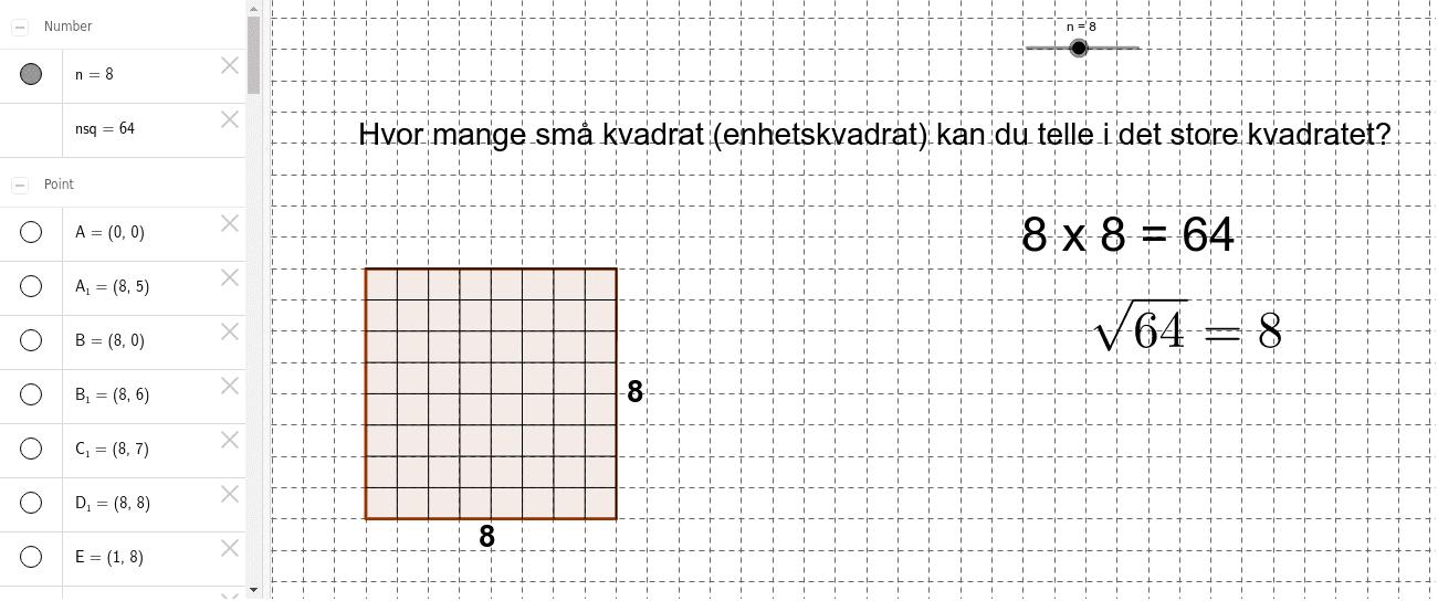 kvadrattall
