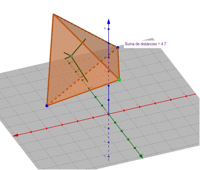 En el tetraedre Premeu Enter per iniciar l'activitat