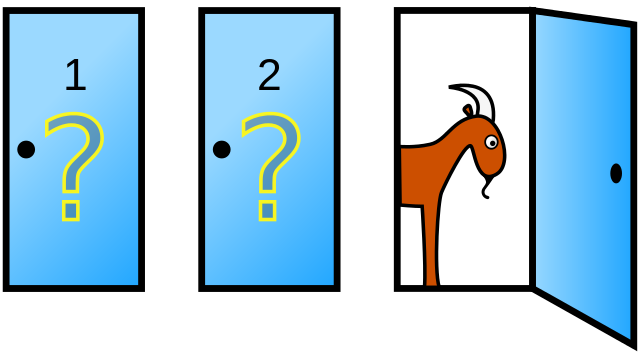 Τρεις πόρτες, ένα αυτοκίνητο και δύο κατσίκες!