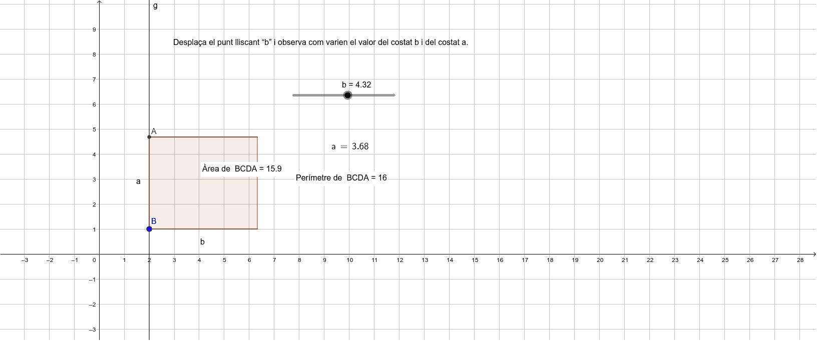 Varia el valor de l'amplada del rectangle