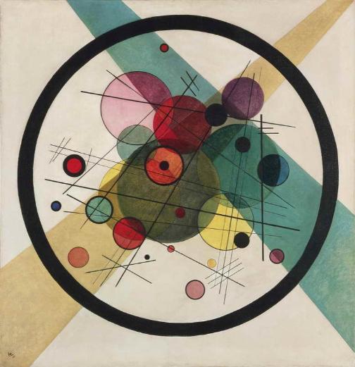 Wassily Kandinsky, Círculos en un círculo, 1923