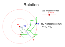 Isometri Rotation
