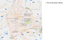 toepassing: de Brusselse Vijfhoek