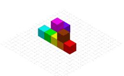 Representing 3D solids in 2D