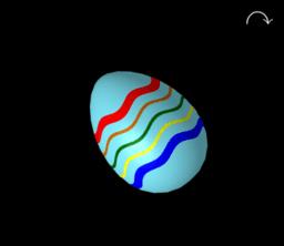 Κατασκευή Πασχαλινού Αυγού (3-D)