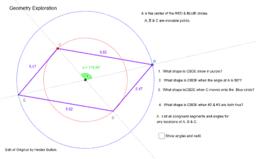 Constructing Parallelograms by Constructing Diagonals
