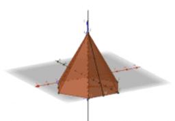 Правильная 6 угольная пирамида