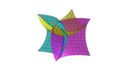 intersections de surfaces