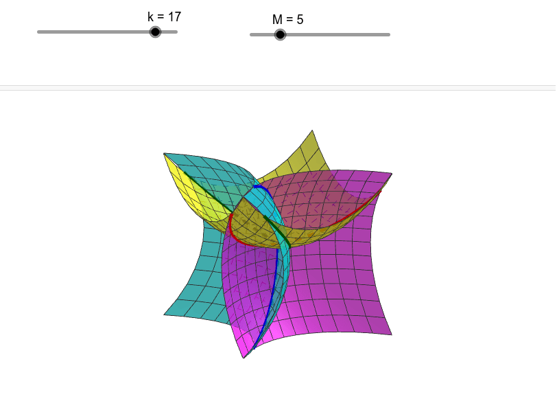 https://help.geogebra.org/topic/how-to-intersect-surfaces-in-3d Press Enter to start activity