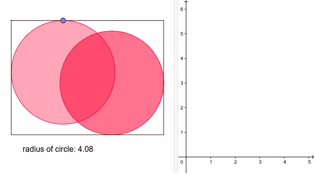 You need to cut out two identical circles from a piece of cardboard 9x12 cm. What is the size of the largest circles you can make?