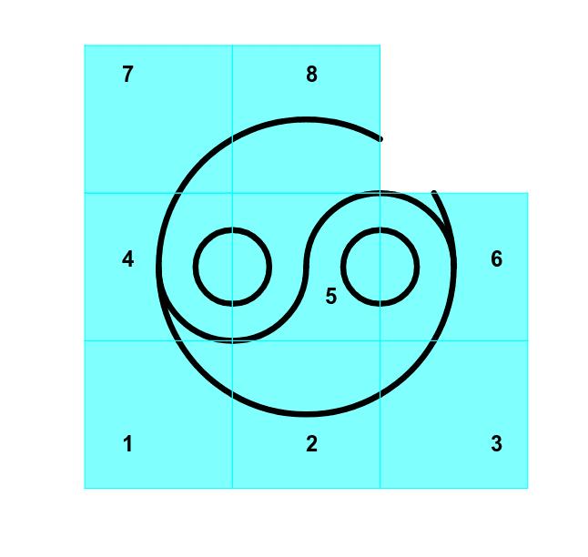 Déplacer les carrés (move squares)