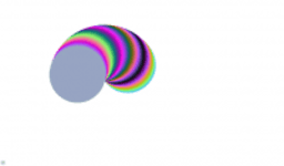 circunferencia con colores dinámicos