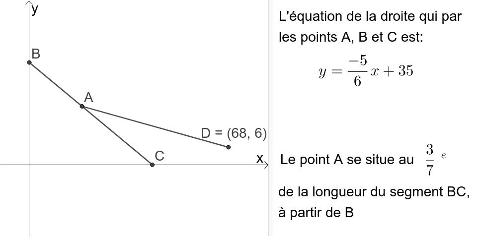 """Question 5: À partir des informations ci-dessous, calculer la distance entre les points A et D Tapez """"Entrée"""" pour démarrer l'activité"""