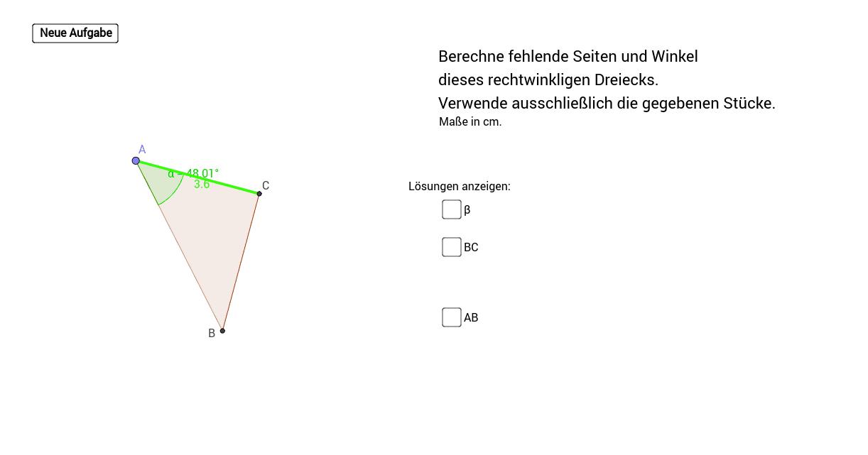 Beste Lösung Pdf Rechtwinkliger Dreiecke Arbeitsblatt Ideen - Mathe ...