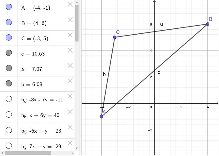 Beispiel Dreieck