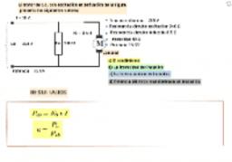 Problema tipo motor derivación CC