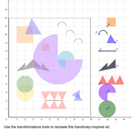 Kandinksy Transformations Puzzle