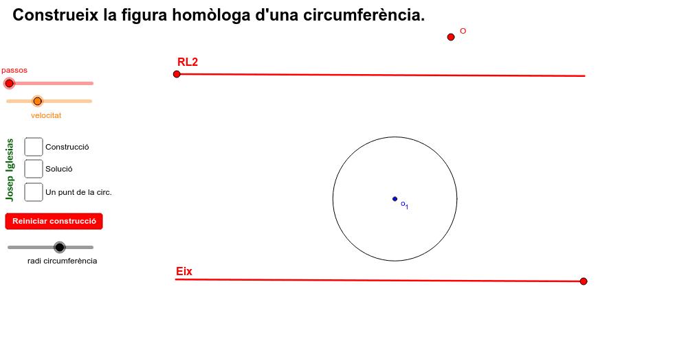 Homologia - CIRCUMFERÈNCIA - EL·LIPSE