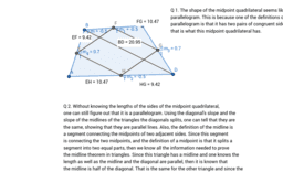 Midpoint Quadrilaterals (Assignment 5)