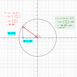 Angle of a Vector (robphy)