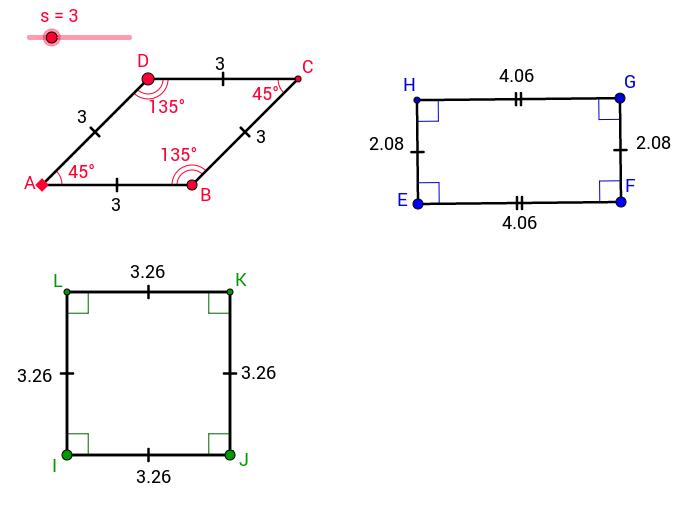 ACCESS - Special Parallelograms