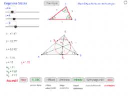 Steckbrief für Dreiecke