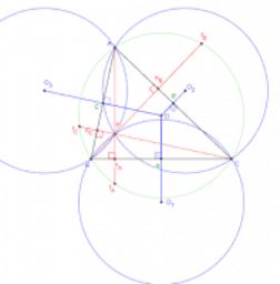 quatre cercles de même rayon