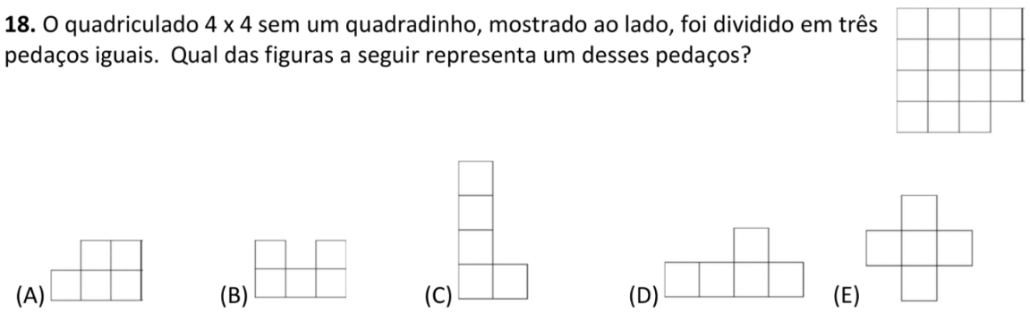 Questão 18 (Enunciado)
