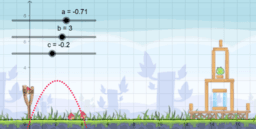 Copy of Angry Birds Parabola