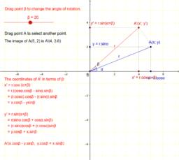 Rotation: formula
