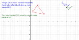 Translate and Reflect a Triangle : Problem N20