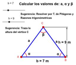 Resolución de Problemas de Teorema de Pitágoras