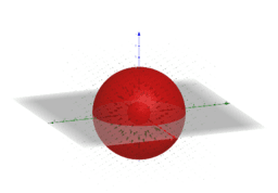 Gauss Vector Field in 3D