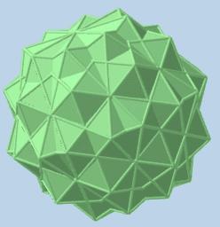 Rotación del Icosaedro