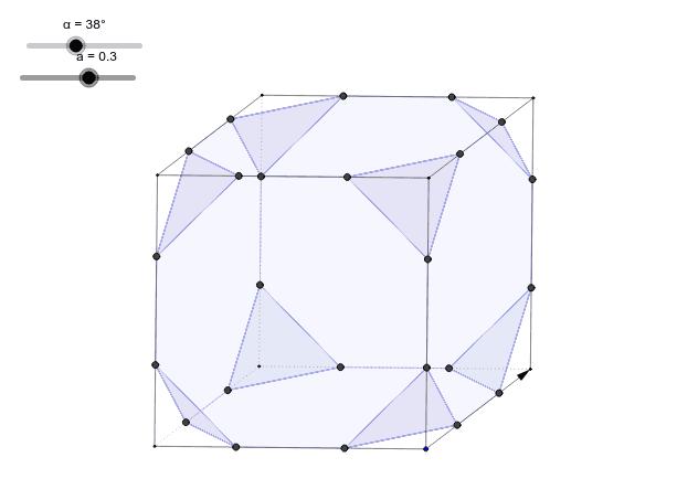Cubo Truncado desde o GeoGebra 2D (2006, Eurekamat) Pressione Enter para iniciar a atividade
