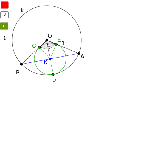 """Egy trigonometriai megoldás (Kattintgass a """"T"""" gombra!) Press Enter to start activity"""