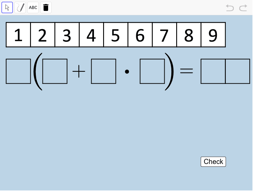 For a true number sentence, what is the HIGHEST POSSIBLE VALUE you can get either side to equal? What is the LOWEST POSSIBLE VALUE you can get either side to equal?  Press Enter to start activity