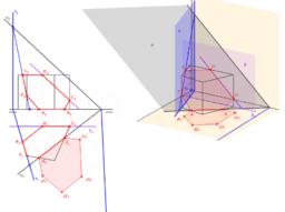 DT2.Diedrico. Secciones. Problema 05. (Primera parte)