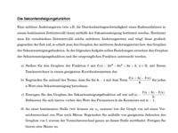 sekantensteigungsfunktion
