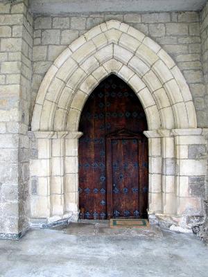 Iglesia de San Andrés en Ekai, Navarra